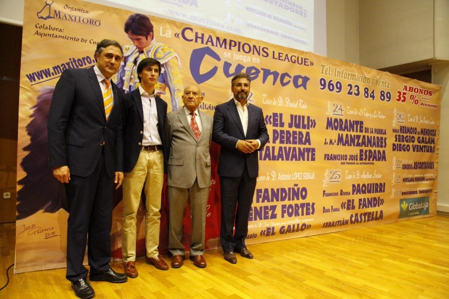 La Champions se vuelve a jugar en Cuenca