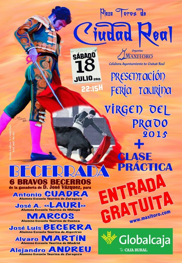 La Feria Taurina de Ciudad Real se presenta el 18 de julio