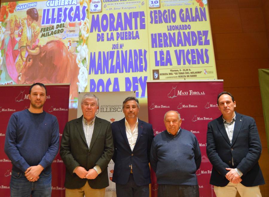 Morante, Manzanares y Roca Rey, el Milagro de Illescas