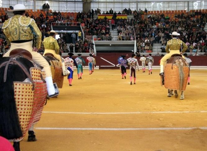 David Mora, Daniel Luque y Pepe Moral con una gran corrida de Pallar�s, en Illescas