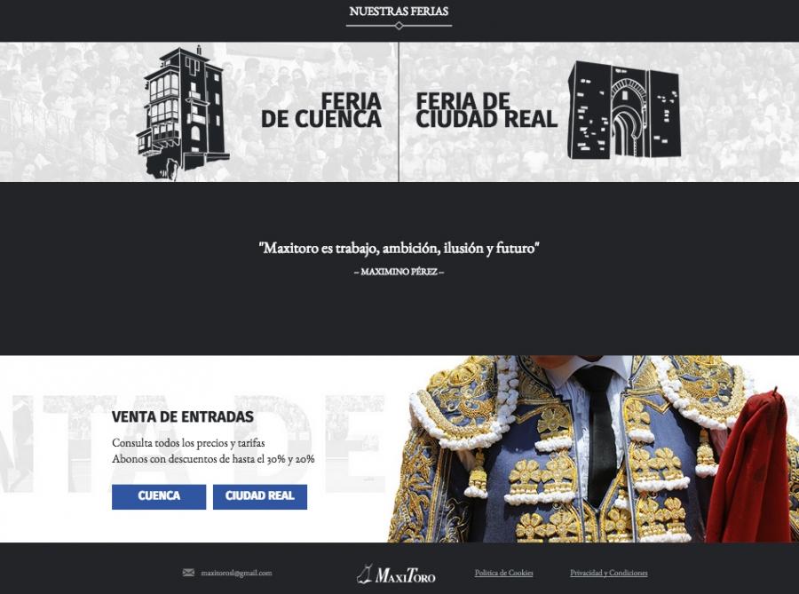MaxiToro renueva por completo su p�gina web