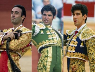 Enrique Ponce, Cayetano y López Simón, en Illescas el 12 de marzo